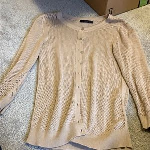 The Limited tan light weight cardigan